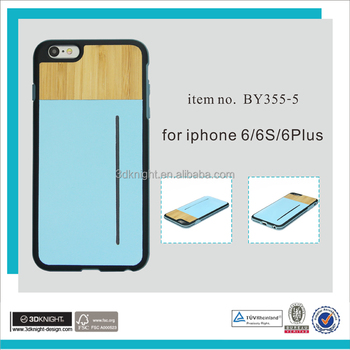 Mobile phone wholesale bamboo phone case blank wood case for iphone