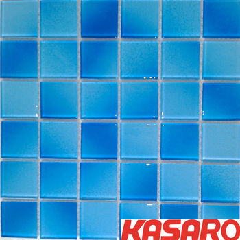 50x50 Swimming Pool Mosaics Glass Mosaic Swimming Pool Tile Blue Mosaic  Bathroom Floor Tile