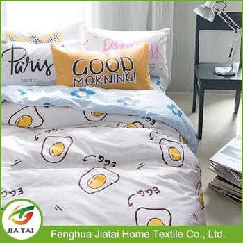Superieur Fried Egg Pattern Bed Sheet Set Home Textile, Comforter Sets Bedding Custom  Bedding, Comforter