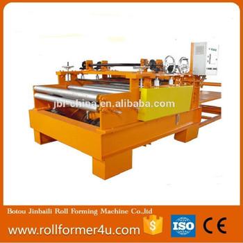 plate flattening machine