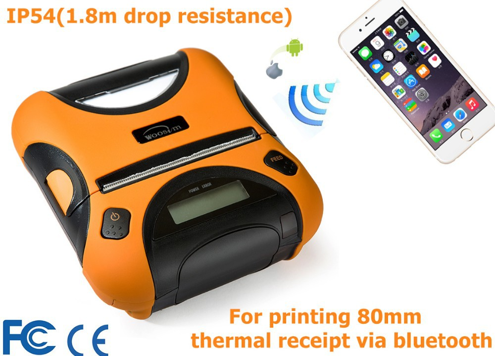 80mm pos devices 3 inches mobile thermal bluetooth ticket printer WSP-I350