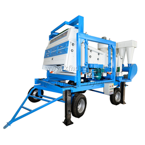 HZXZ Large Capacity Maize Soybean Wheat Seed Paddy Cleaning Machine/Cocoa Bean Rice Corn Grain Cleaner (Hot Sale)