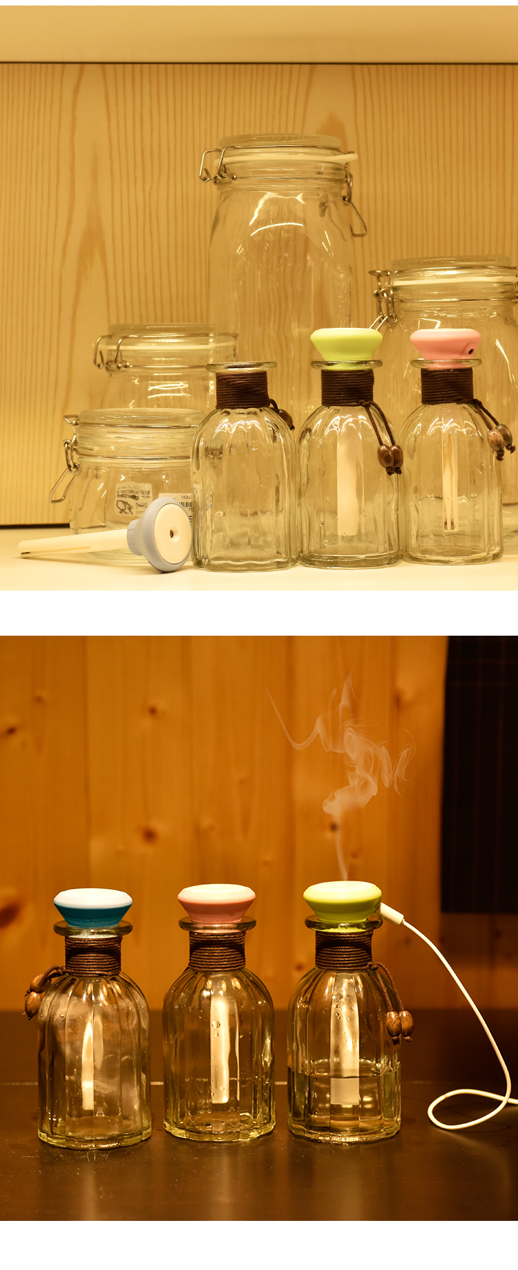 2016 NEW Steam Air Purifier Aroma Diffuser Essential oil diffuser Aromatherapy Humidifier