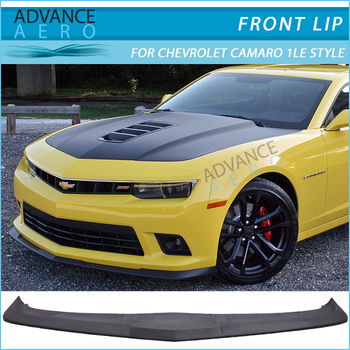For 2014 2015 chevy camaro ss model only 1le style front bumper for 2014 2015 chevy camaro ss model only 1le style front bumper lip spoiler pu publicscrutiny Gallery