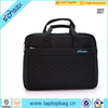 wholesale custom embrodiery design black nylon crossbody laptop bags
