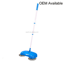 Lowest pirce No Power Needed Automantic Hand Push Handheld Carpet Floor Dust Dirt Cleaner Home Magnetic Flloor sweeper
