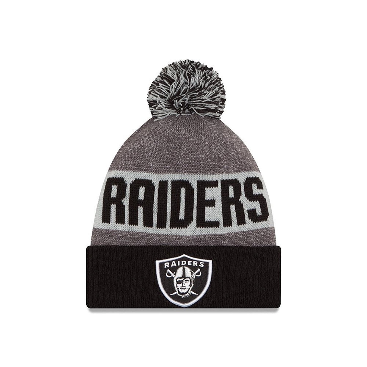 2f4efc9e9 ... coupon code for get quotations mens new era oakland raiders 2016  sideline sport knit hat d882a