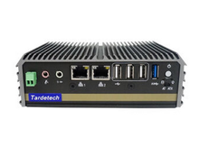 Wide temperature and fanless industrial control computer embedded plus module can connect to 4G network WUFO-900