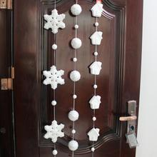 55 inch  Long Christmas Hanging Decoration  Foam Christmas Decorations For home Styrofoam Ball Christmas Ornaments