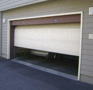 High Quality PU Foam material Automatic Roller Shutter Garage Doors with windows