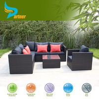 Outdoor Patio Wicker Furniture All Weather Couch Set