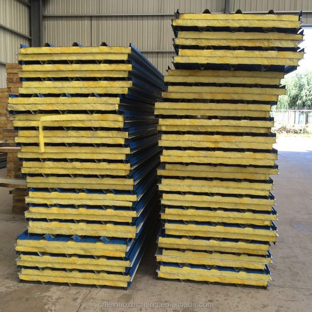 Commercial and industrial buildings/Glass wool sandwich panel