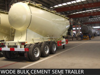 China factory sale High Quality bulk cement tank semi trailer
