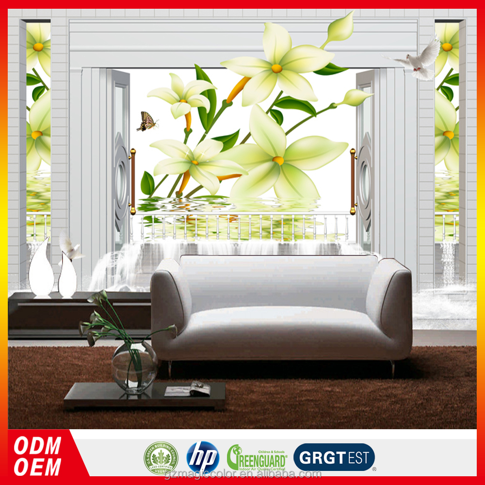 3d cadre photo papier peint nature jaune fleur dans le papier peint de l 39 eau hd image designer. Black Bedroom Furniture Sets. Home Design Ideas