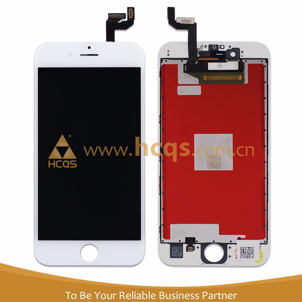 Wholesale Grade AAA mobile phone spare parts for iphone 6s lcd touch front glass screen panel