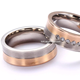 Fashion cheap wholesale wedding couple ring for christmas catalogs