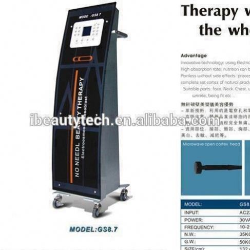 New product GS8.7 needle free mesotherapy /ultra lipo cavitation /no needle mesotherapy