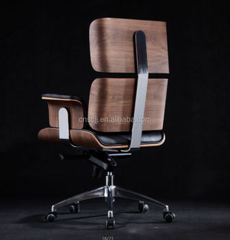 Luxury Bent Plywood Swivel Executive Genuine Leather Office Chair Buy Office Chair Boss Chair Modern Leather Swivel Chair Product On Alibaba Com