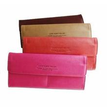 Women's Fashion Long Card Holder Faux Leather Evening Bag Clutch Purse Wallet Card Holder 9FQE