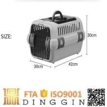 Customised plastic dogs cages portable pet carrier