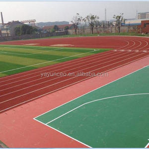 Shock resistance rubber scraps infill rubber for artificial grass playground flooring