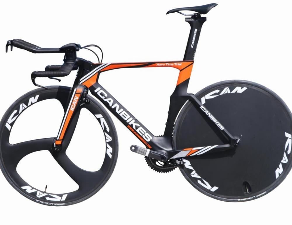 New Carbon Complete Triathlon Bicycle Tt Frame Tt01 Time Trial Bike With  Disc Wheel Tri Spoke Wheel - Buy Tt Bike,Triathlon Bike,Triathlon Time  Trial