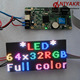 NIYAKR Indoor SMD RGB Full Color P2.5 64x32 LED Dot Matrix