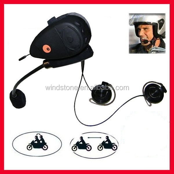 Factory Price Motorcycle Helmet Two Way Radio Headset Dual Speaker Half Face Headphone Helmet Headset
