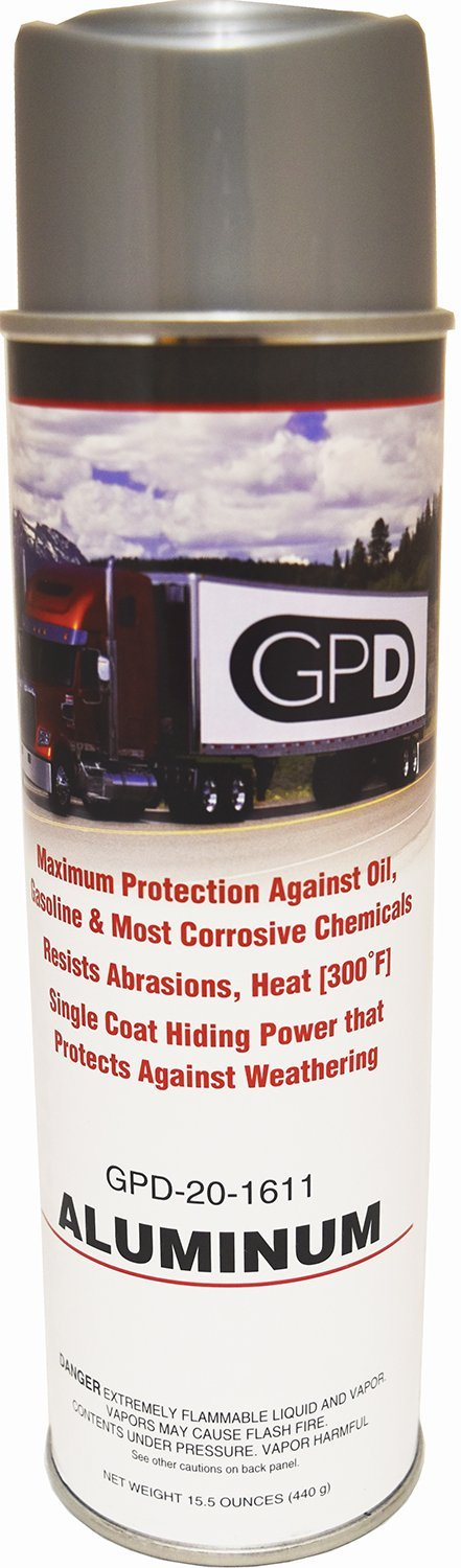 One Case of GPD Aluminum Color Spray Paint Trailer Repairs and Touch Ups