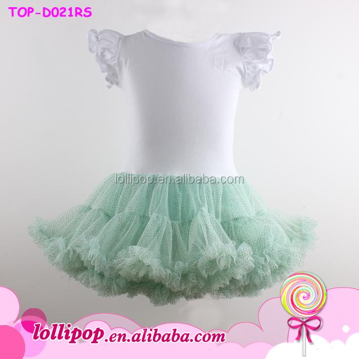 17172a346 Latest Children High Low Tops Black Long Sleeve Cuff Ruffle Dress ...