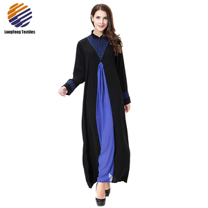 20a824e11827 Abaya Black Crystal, Abaya Black Crystal Suppliers and Manufacturers at  Alibaba.com