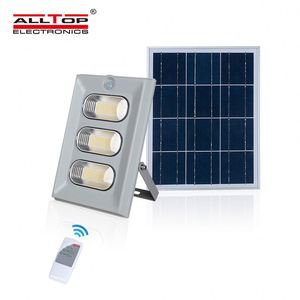 ALLTOP High brightness outdoor waterproof IP67 square 50W 100W 150W Solar led Floodlight