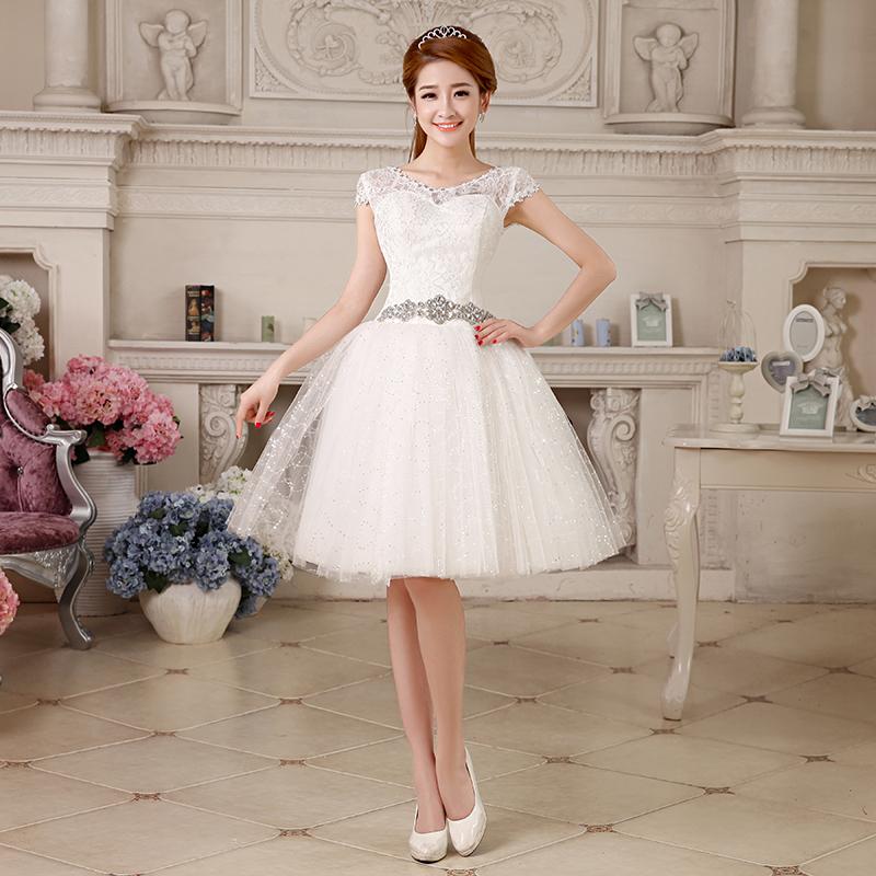 9723e5c6e vestidos de novia baratos y cortos