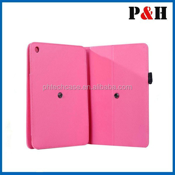 2015 fashion leather tablet cover case, tablet cover for ipad air 2 leather case