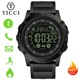 TICCI Fitness Tracker Digital Sports Bluetooth Smart Watch Pedometer Call Message Notification Smartwatch Men Boys Waterproof
