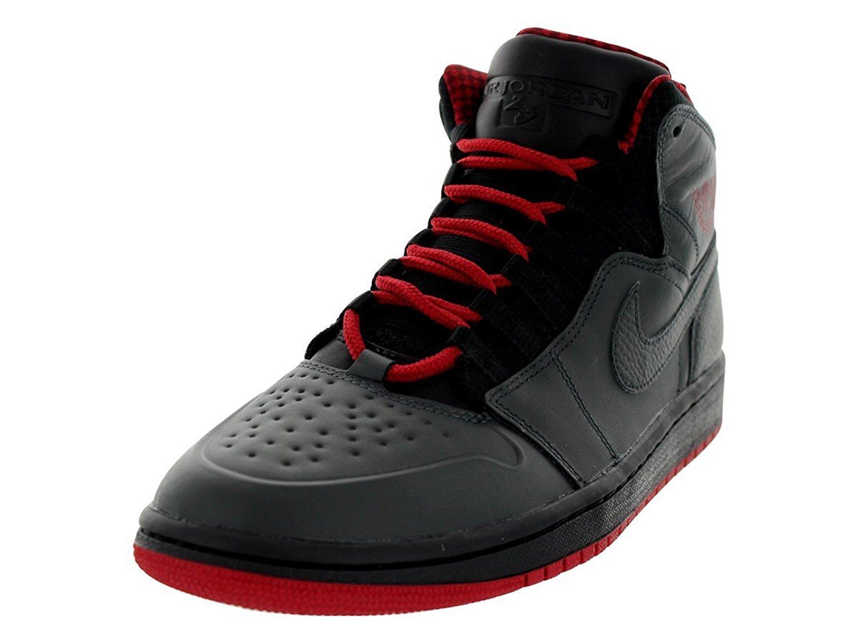 buy online 8596d dfbf0 Get Quotations · Nike Jordan Men s Air Jordan 1 Retro  94 Anthracite Gym Red  Black