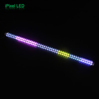 Automatic 3D RGB Led Pixel Tube Led Stick Bar Light For Bumper Car With Remote Controller