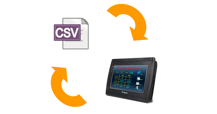 Wecon 7 Inch Cheap Hmi Touch Screen With Canbus Interface