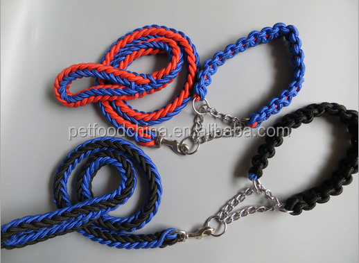 China Custom fancy thick dog leash retractable