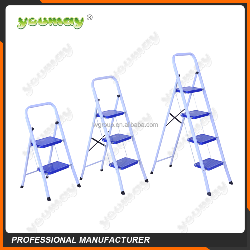 TUV/GS EN14183 & EN131 ladder/supper ladder/steel ladder,SF0603C,3 steps