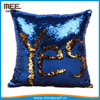 Throw Pillows Yes Or No : Yes Or No Easy Writing Color Changed Throw Pillow Reversible Mermaid Pillow - Buy Throw Pillow ...