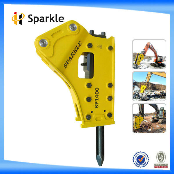 1.2-3.0ton mini excavator hydraulic rock breaker for sale (SP450)