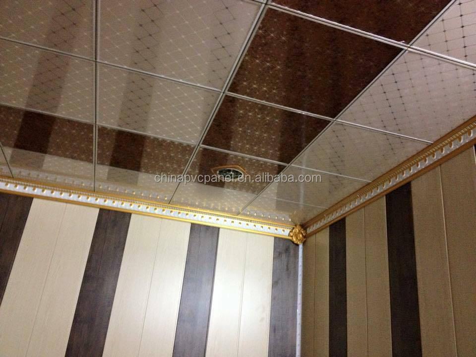 Pvc Ceiling Design Plafond Lambris Pvc Buy Pvc Down