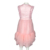 Little Girls Summer Wear School Pageant Uniform Kid Grenadine Sleeveless Dress