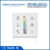 zigbee intelligent touch switch in remote control led lighting system