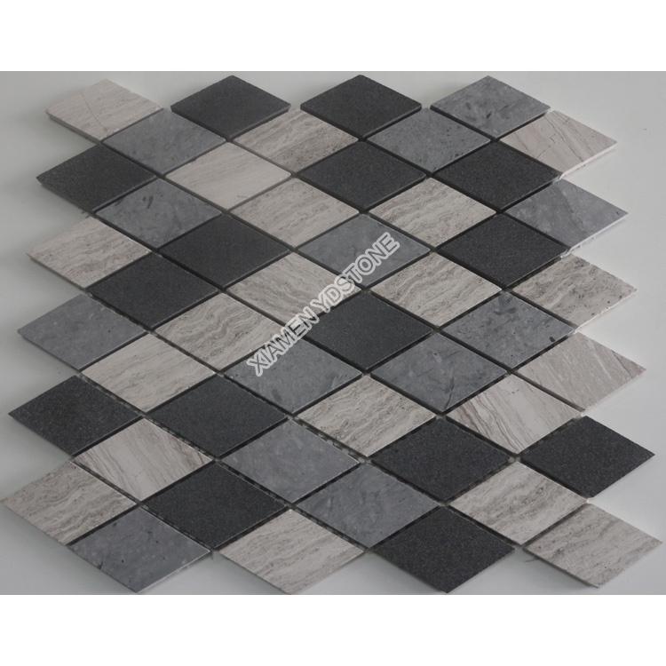 Großhandel rhombus mosaik fliesen Kaufen Sie besten