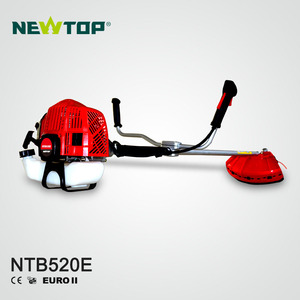 New Design cg520 Grass trimmer gasoline 52cc brush cutter price with metal blade
