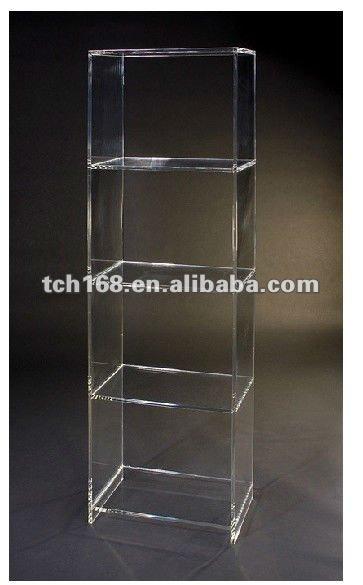 Nova forma acrílico estante para o escritório-Estantes de ...
