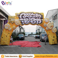 2017 Hot sale inflatable entrance arch support for party wedding