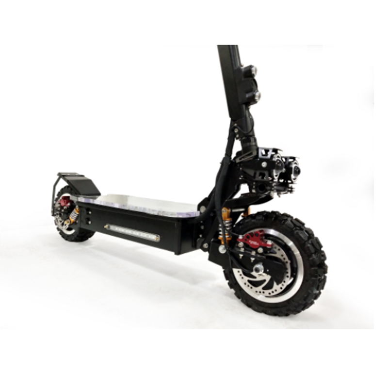 Foldable Powerful Scoter 60v 20a 3000w 3200w Electric Scooter 3000w 200kg Load Electrique Folding Electric Golf Scooter Canned, Black